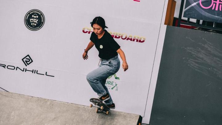 【2018滑板俱樂部聯賽CSL】南京站女子街式精彩瞬間 梁璐