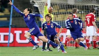 日本隊大迫勇也進球?北川航也進球?