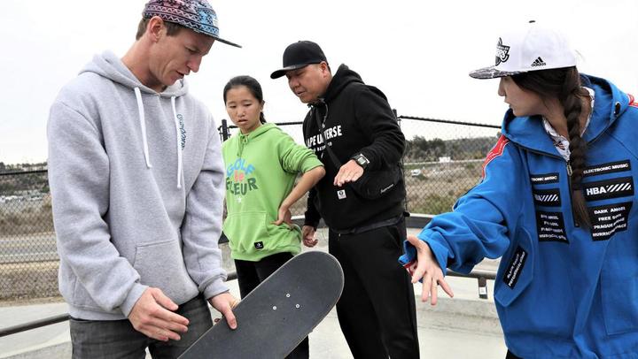 國家滑板集訓隊(南京)訓練