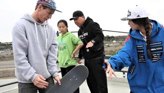 国家滑板集训队(南京)训练