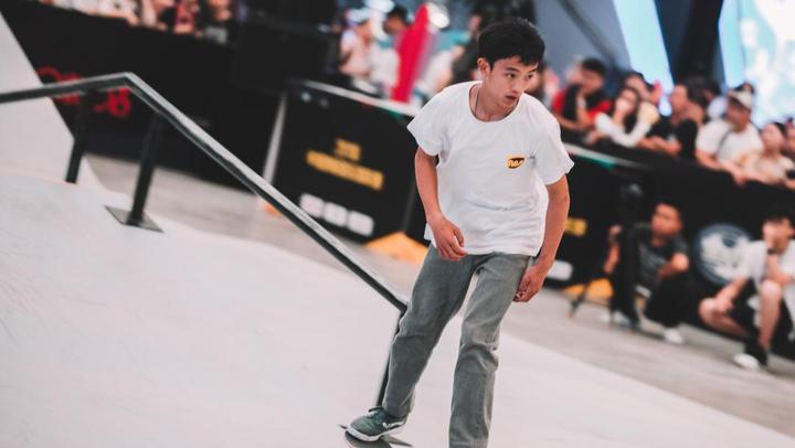 2018-2019中國滑板俱樂部聯賽上海站個人精彩集錦2