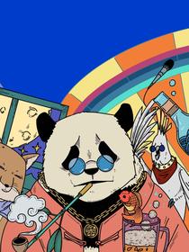 硬核动物园漫画